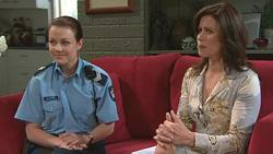 Snr. Const. Sophie Cooper, Rebecca Napier in Neighbours Episode 5289