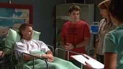 Oliver Barnes, Declan Napier, Dr Demi Vinton in Neighbours Episode 5293