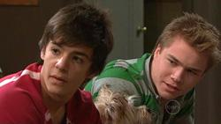 Zeke Kinski, Audrey, Ringo Brown in Neighbours Episode 5295