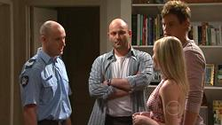 Sgt Ray Moller, Steve Parker, Janae Timmins, Ned Parker in Neighbours Episode 5295