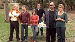 Harold Bishop, Ringo Brown, Rachel Kinski, Karl Kennedy, Steve Parker, Miranda Parker in Neighbours Episode 5295