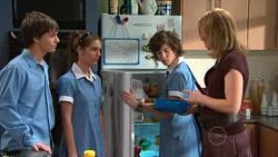 Zeke Kinski, Rachel Kinski, Bridget Parker, Miranda Parker in Neighbours Episode 5296