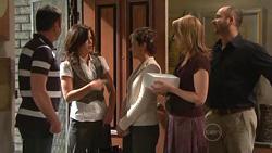 Karl Kennedy, Rebecca Napier, Susan Kennedy, Miranda Parker, Steve Parker in Neighbours Episode 5298