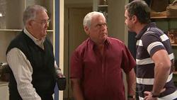 Harold Bishop, Lou Carpenter, Karl Kennedy in Neighbours Episode 5298