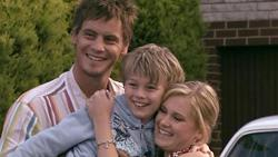 Ned Parker, Mickey Gannon, Janae Timmins in Neighbours Episode 5298