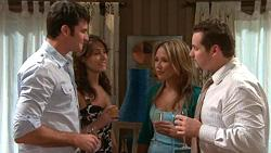 Frazer Yeats, Carmella Cammeniti, Steph Scully, Toadie Rebecchi in Neighbours Episode 5299