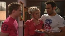 Ringo Brown, Pepper Steiger, Adam Rhodes in Neighbours Episode 5300