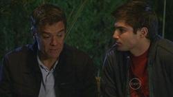 Paul Robinson, Declan Napier in Neighbours Episode 5300