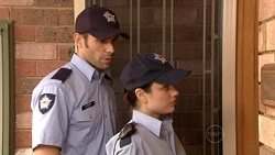 Adam Rhodes, Snr. Const. Sophie Cooper in Neighbours Episode 5302