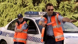 Snr. Const. Sophie Cooper, Adam Rhodes in Neighbours Episode 5302