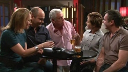 Miranda Parker, Steve Parker, Lou Carpenter, Susan Kennedy, Karl Kennedy in Neighbours Episode 5303