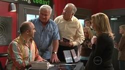 Tony Aristedes, Lou Carpenter, Harold Bishop, Miranda Parker in Neighbours Episode 5304