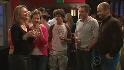 Miranda Parker, Susan Kennedy, Zeke Kinski, Karl Kennedy, Steve Parker in Neighbours Episode 5304