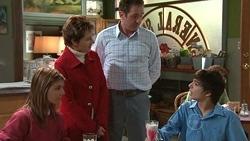 Rachel Kinski, Susan Kennedy, Karl Kennedy, Zeke Kinski in Neighbours Episode 5304