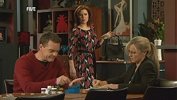 Paul Robinson, Rebecca Napier, Samantha Fitzgerald in Neighbours Episode 6037