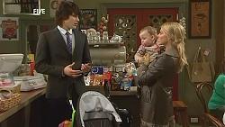 Declan Napier, India Napier, Donna Freedman in Neighbours Episode 6038