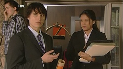 Declan Napier, Lynda Solloway in Neighbours Episode 6039