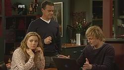 Natasha Williams, Paul Robinson, Andrew Robinson in Neighbours Episode 6039