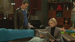 Paul Robinson, Samantha Fitzgerald in Neighbours Episode 6041