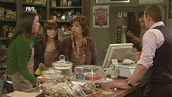 Kate Ramsay, Summer Hoyland, Lyn Scully, Toadie Rebecchi in Neighbours Episode 6041