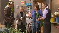 Mark Brennan, Samantha Fitzgerald, Kate Ramsay, Toadie Rebecchi in Neighbours Episode 6042