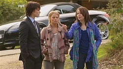 Declan Napier, Donna Freedman, Kate Ramsay in Neighbours Episode 6043