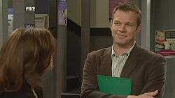 Rebecca Napier, Michael Williams in Neighbours Episode 6044