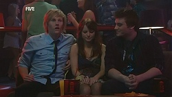 Andrew Robinson, Summer Hoyland, Tomas Harsky in Neighbours Episode 6044