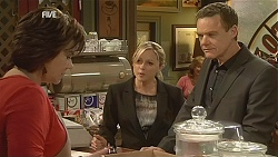 Lyn Scully, Samantha Fitzgerald, Paul Robinson in Neighbours Episode 6045