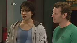 Declan Napier, Lucas Fitzgerald in Neighbours Episode 6045