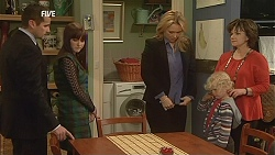 Toadie Rebecchi, Summer Hoyland, Steph Scully, Charlie Hoyland, Lyn Scully in Neighbours Episode 6045