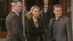 Karl Kennedy, Donna Freedman, Samantha Fitzgerald, Paul Robinson in Neighbours Episode 6046