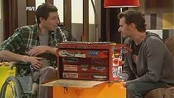 Billy Forman, Lucas Fitzgerald in Neighbours Episode 6046