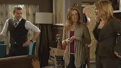 Toadie Rebecchi, Sonya Mitchell, Steph Scully in Neighbours Episode 6047