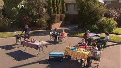 Paul Robinson, Declan Napier, Donna Freedman, Andrew Robinson, Natasha Williams, Karl Kennedy, Susan Kennedy in Neighbours Episode 6047