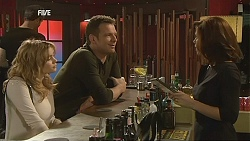 Natasha Williams, Michael Williams, Rebecca Napier in Neighbours Episode 6048