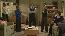 Sonya Mitchell, Susan Kennedy, Toadie Rebecchi, Steph Scully, Lyn Scully in Neighbours Episode 6052