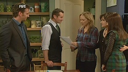Lucas Fitzgerald, Toadie Rebecchi, Steph Scully, Lyn Scully, Summer Hoyland in Neighbours Episode 6053