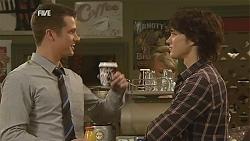 Mark Brennan, Declan Napier in Neighbours Episode 6054