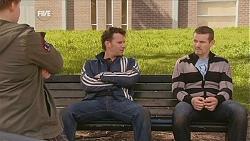 Callum Jones, Lucas Fitzgerald, Toadie Rebecchi in Neighbours Episode 6056