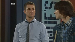 Mark Brennan, Declan Napier in Neighbours Episode 6057