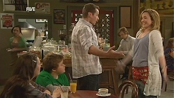 Sophie Ramsay, Callum Jones, Toadie Rebecchi, Sonya Mitchell in Neighbours Episode 6057