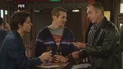 Zeke Kinski, Toadie Rebecchi, Karl Kennedy in Neighbours Episode 6059