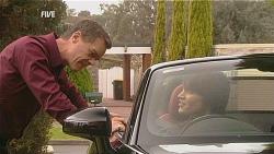 Paul Robinson, Declan Napier in Neighbours Episode 6062