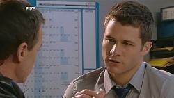 Paul Robinson, Mark Brennan in Neighbours Episode 6062