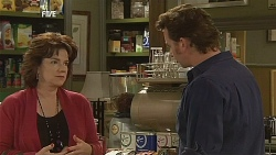 Lyn Scully, Lucas Fitzgerald in Neighbours Episode 6064