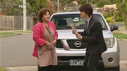 Lyn Scully, Declan Napier in Neighbours Episode 6067