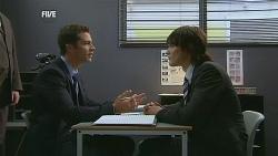 Mark Brennan, Declan Napier in Neighbours Episode 6068