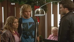 Natasha Williams, Andrew Robinson, Tomas Bersky in Neighbours Episode 6069