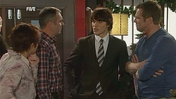 Susan Kennedy, Karl Kennedy, Declan Napier, Michael Williams in Neighbours Episode 6069
